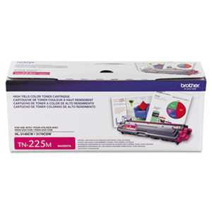Brother TN225M TN225M High-Yield Toner, Magenta