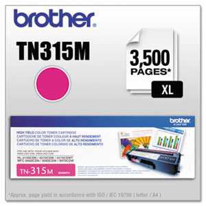 Brother TN315M TN315M High-Yield Toner, Magenta