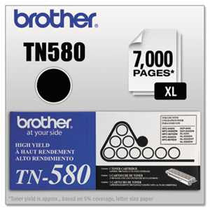 Brother TN580 TN580 High-Yield Toner, Black