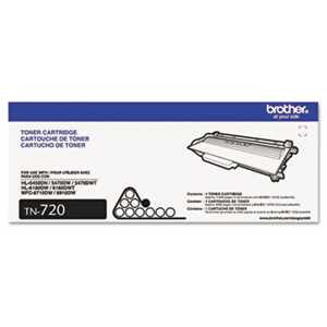 Brother TN720 TN720 Toner, Black