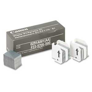 Canon 0251A001AA Staples for Canon IR550/600/6045/Others, Three Cartridges, 15,000 Staples/Pack