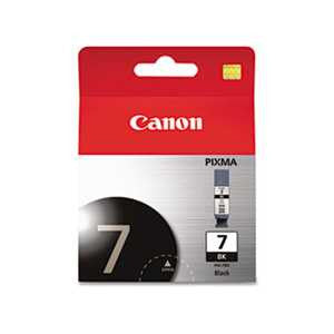 Canon 2444B002 2444B002 (PGI-7) Ink, Black