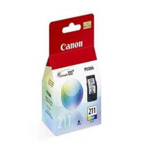 Canon CL-211 Color Ink Cartridge, Canon 2976B001