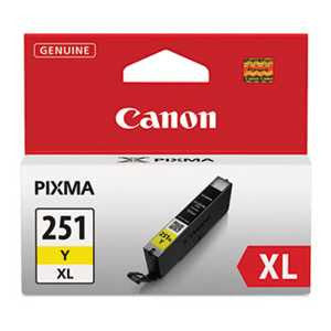 Canon 6451B001 6451B001 (CLI-251XL) ChromaLife100+ High-Yield Ink, Yellow