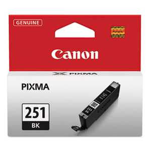 Canon 6513B001 6513B001 (CLI-251) ChromaLife100+ Ink, Black