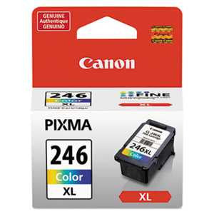 Canon 8280B001 8280B001 (CL-246XL) ChromaLife100+ High-Yield Ink, Tri-Color