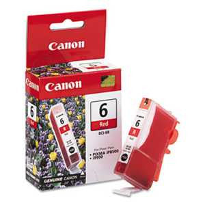 Canon BCI6R BCI6R (BCI-6) Ink, Red