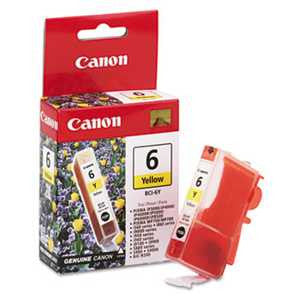 Canon BCI6Y BCI6Y (BCI-6) Ink, Yellow