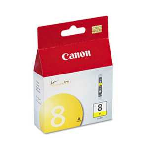 Canon CLI8Y CLI8Y (CLI-8) Ink, Yellow