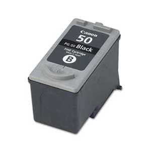 Canon PG50 PG50 (PG-50) High-Yield Ink, Black