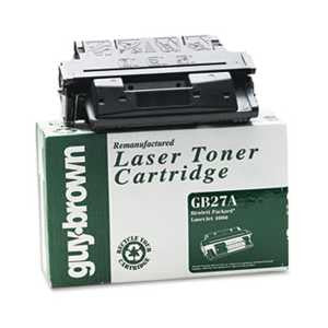 Guy Brown Products GB27A GB27A (C4127A) Laser Cartridge, Standard-Yield, 6000 Page-Yield, Black
