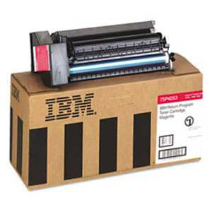 IBM InfoPrint Color 1354 Return Program Magenta Toner Cartridge, IBM 75P4053