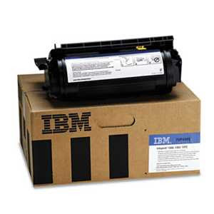 InfoPrint Solutions Company 75P4303 75P4303 High-Yield Toner, 21000 Page-Yield, Black