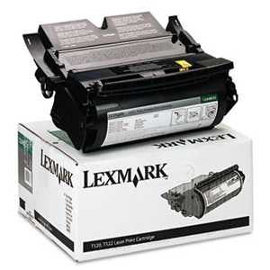 Lexmark 12A6830 12A6830 Toner, 7500 Page-Yield, Black
