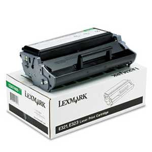 Lexmark 12A7405 12A7405 High-Yield Toner, 6000 Page-Yield, Black