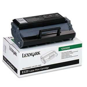 Lexmark 12S0400 12S0400 Toner, 2500 Page-Yield, Black