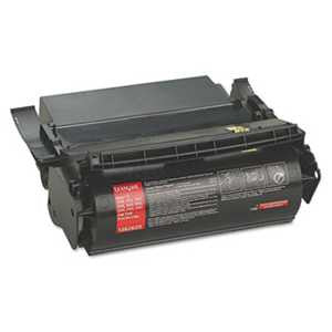 Lexmark 1382625 1382625 High-Yield Toner, 17600 Page-Yield, Black