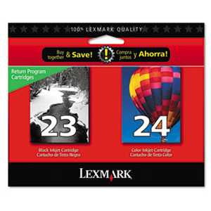 Lexmark 18C1571 18C1571 Ink, 2/Pack, Black; Tri-Color