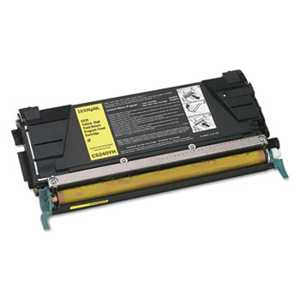 Lexmark C5240YH C5240YH High-Yield Toner, 5000 Page-Yield, Yellow