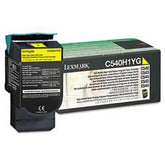 Lexmark C540H1YG C540H1YG High-Yield Toner, 2000 Page-Yield, Yellow