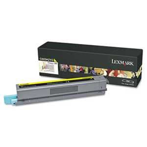 Lexmark C925H2YG C925H2YG High-Yield Toner, 7,500 Page-Yield, Yellow