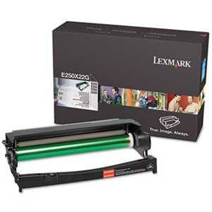 Lexmark E250X22G E250X22G Photoconductor Kit, Black