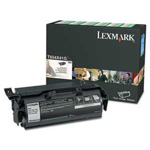 Lexmark T654X41G T654X41G Extra High-Yield Government Toner, 36,000 Page-Yield, Black