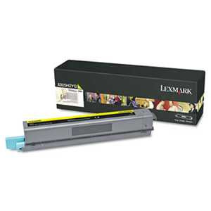 Lexmark X925H2YG X925H2YG High-Yield Toner, 7,500 Page-Yield, Yellow