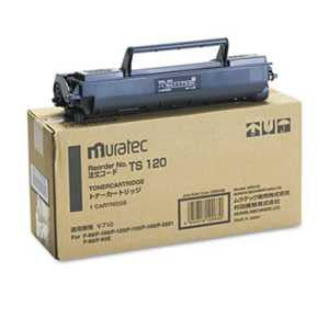 Muratec TS120 TS120 Toner, 5500 Page-Yield, Black