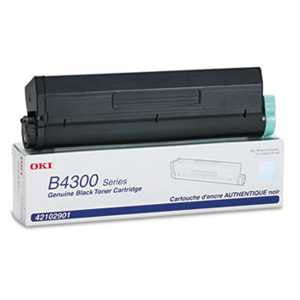 Oki 42102901 42102901 High-Yield Toner, 6000 Page-Yield, Black