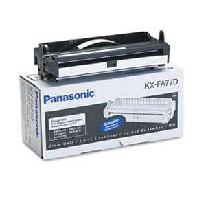 Panasonic KXFA77D KXFA77D Drum Cartridge, Black