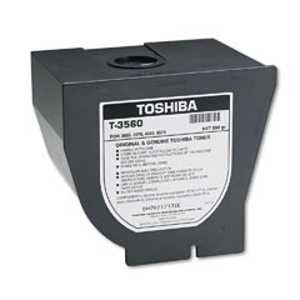 Toshiba T3560 Toner, 13000 Page-Yield, Black
