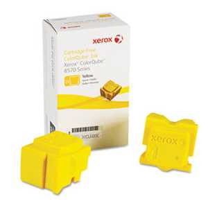 Xerox 108R00928 108R00928 Solid Ink Stick, 4400 Page Yield, Yellow, 2/Box