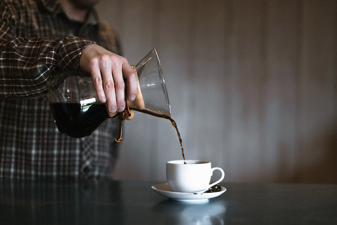 Chemex filter coffee brew guide