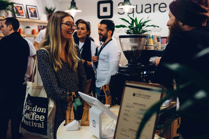 London Coffee Festival and Square UK