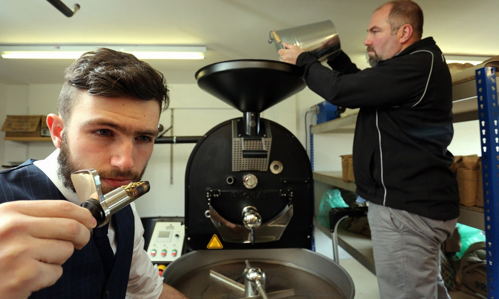 The Guardian - Artisan roasters strike black gold with UK coffee lovers