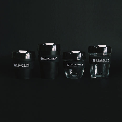 Coaltown Keepcup Collection 8oz 12oz plastic glass