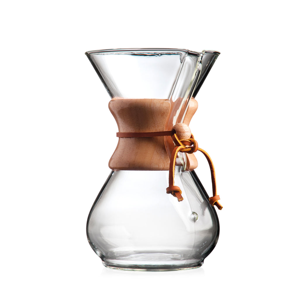 Chemex - Filter Drip Coffee Maker - 6 Cup