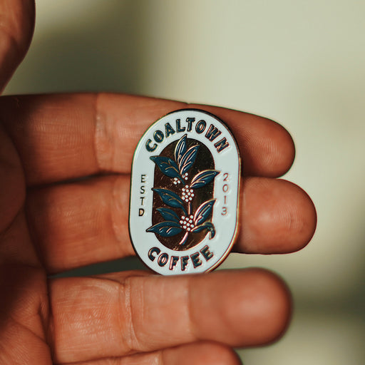 Coaltowns limited edition Purveyors of quality enamel pin