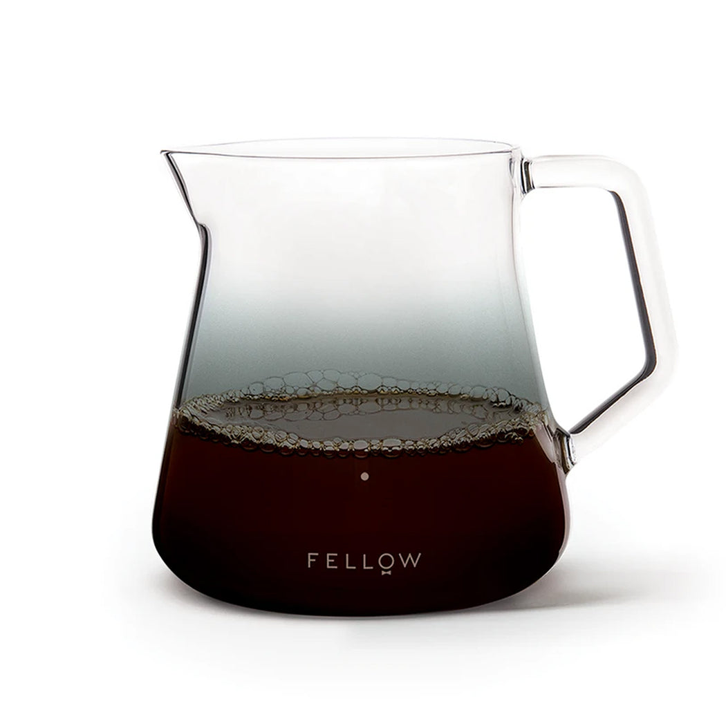Fellow Mighty Small Glass Carafe - Smoked Glass