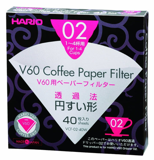 Hario V60 Paperfilters 02 x 40