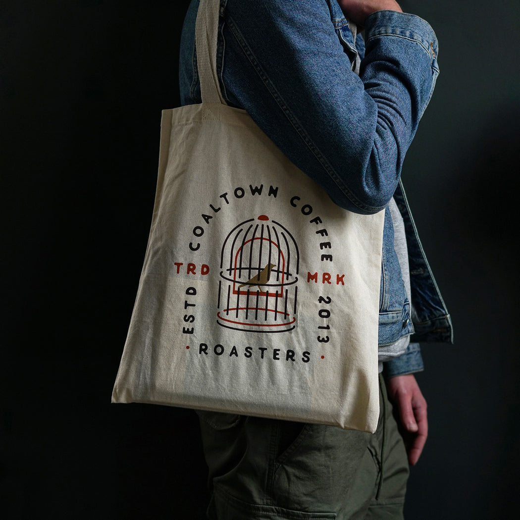 Canary In A Cage Tote Bag