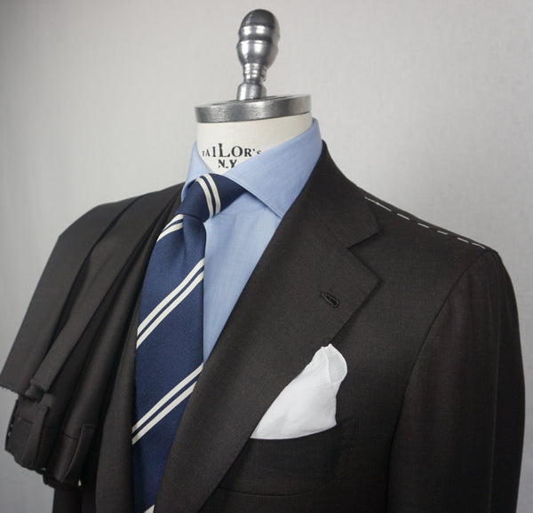 Orazio Luciano Brown suit