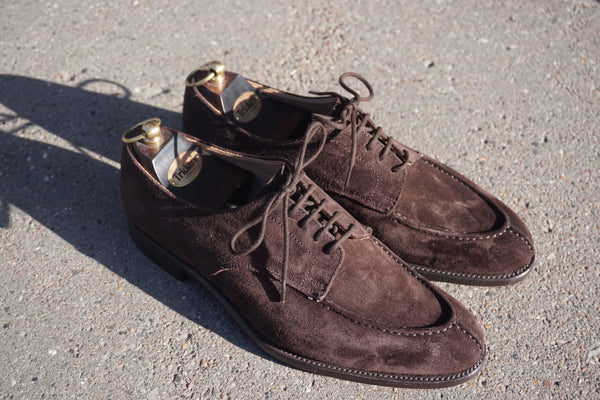 Tricker's Brown split toe
