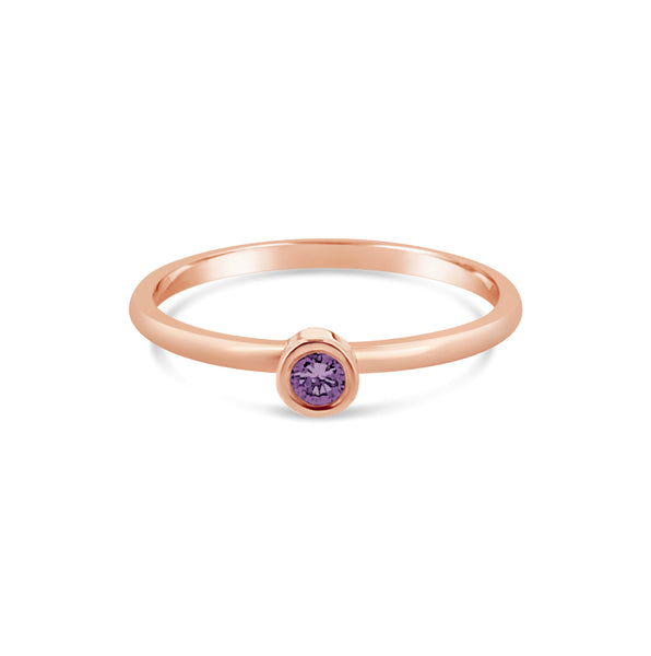 Promise Ring Amethyst