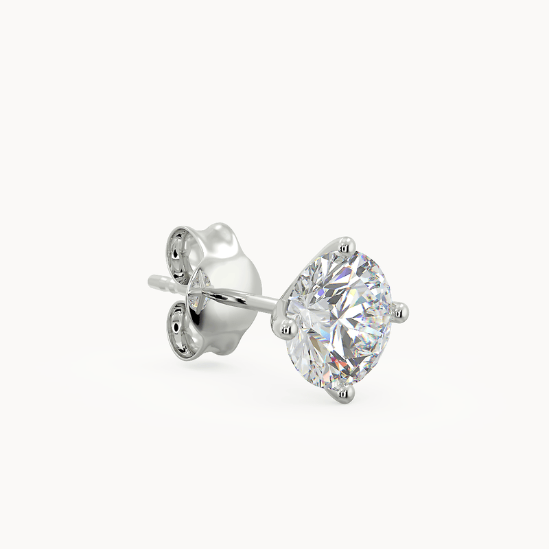 Biella Earrings 18ct White Gold 0.20ct - Avita Jewellery