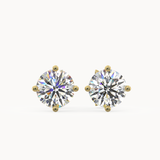Biella Earrings 18ct Yellow Gold 0.20ct - Avita Jewellery