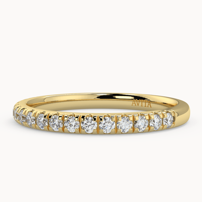 Chloe 2.00mm | Yellow - Avita Jewellery