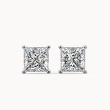 Princess Cut Diamond Stud Earrings - Avita Jewellery