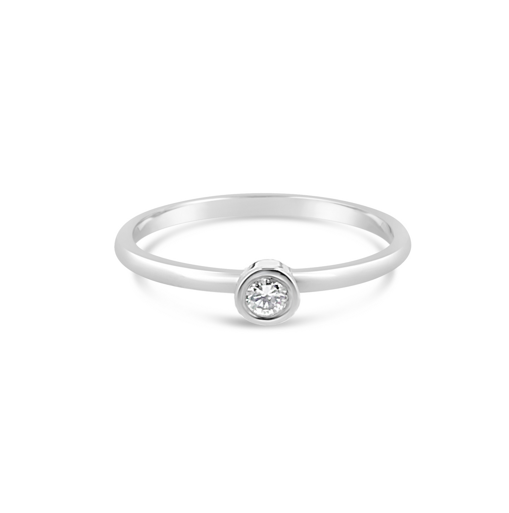 Promise Ring white gold